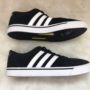 Adidas neo cloudfoam black sneakers az 10.5